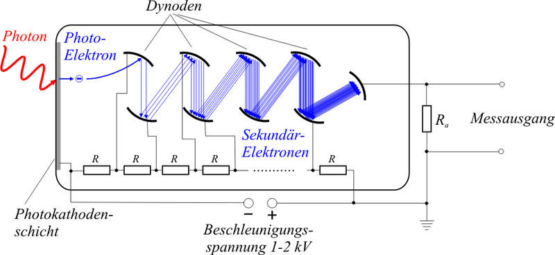 Photomultiplier Schema